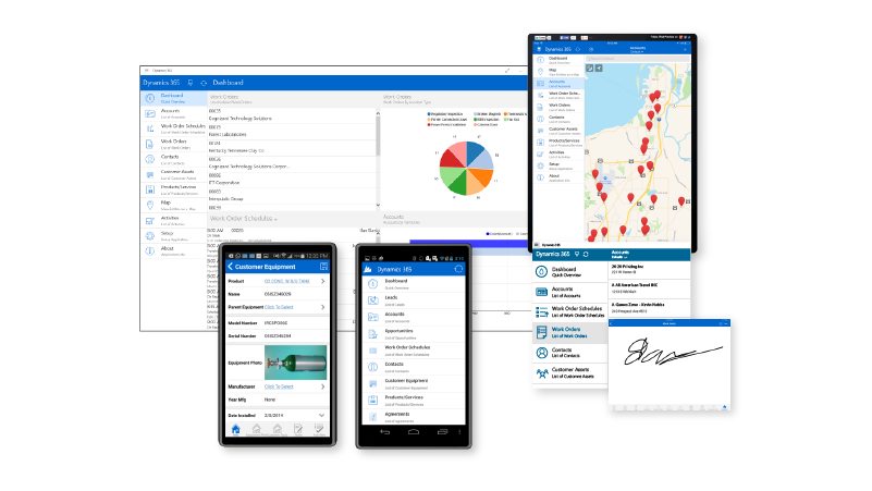 Microsoft Dynamics for Field Service