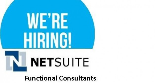 NetSuite Functional Lead Job